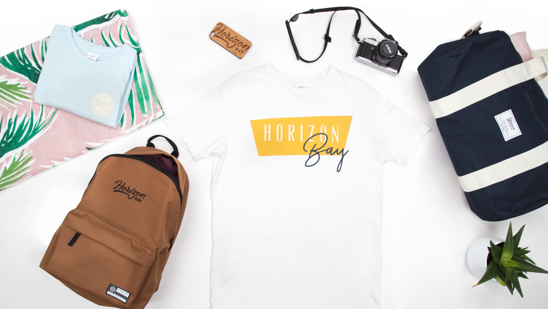 Horizon Bay Flat Lay